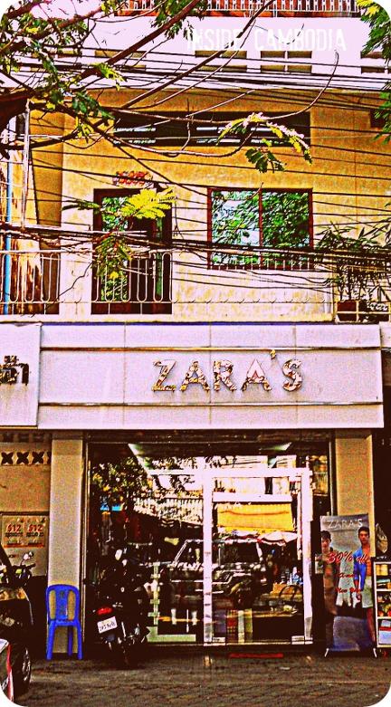 apad pseudo zara boutique in Phnom Penh