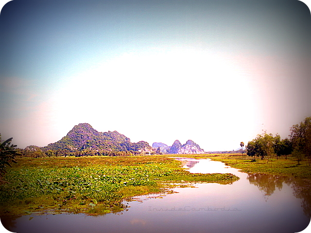 apad 128 limestone mountains in Kampong Trach
