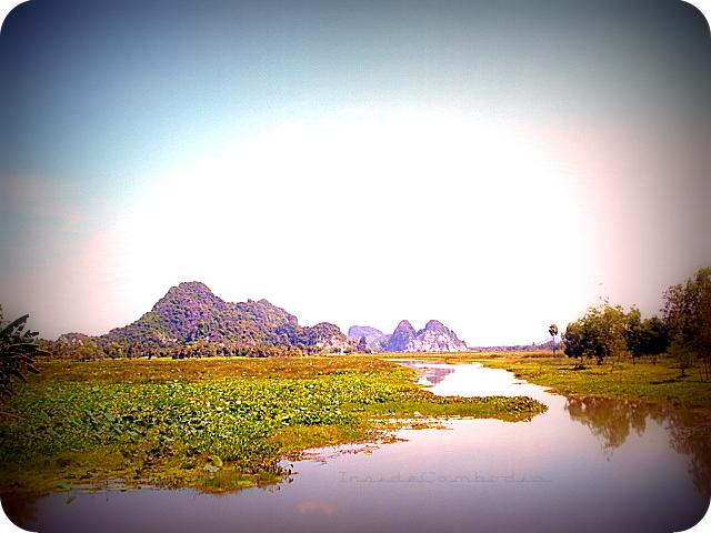 apad 128 limestone mountains in Kampong Trach