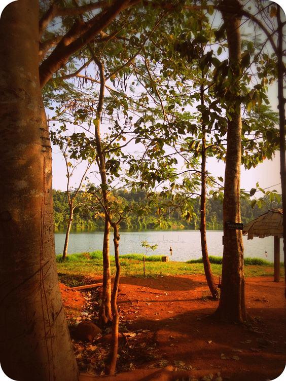Yeak Lom crater lake Ratanakiri