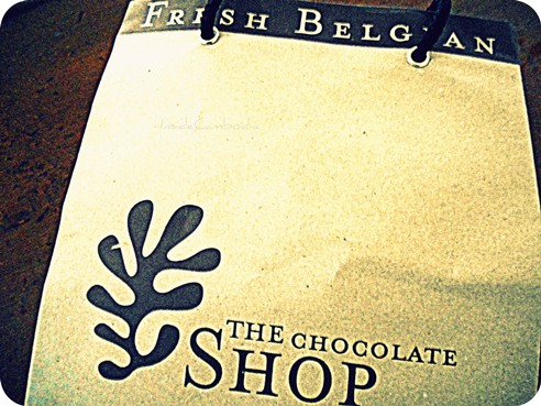 Belgian chocolates from The Shop