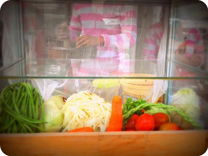 Bok lahong Khmer papaya salad