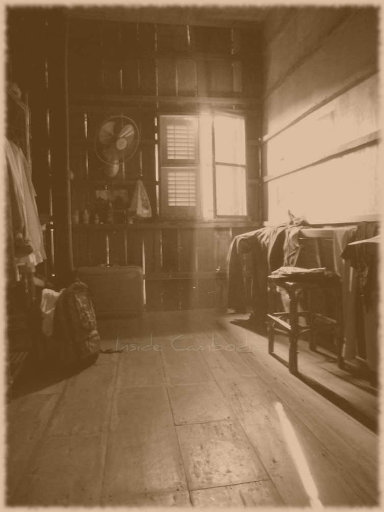 dressing room wooden house