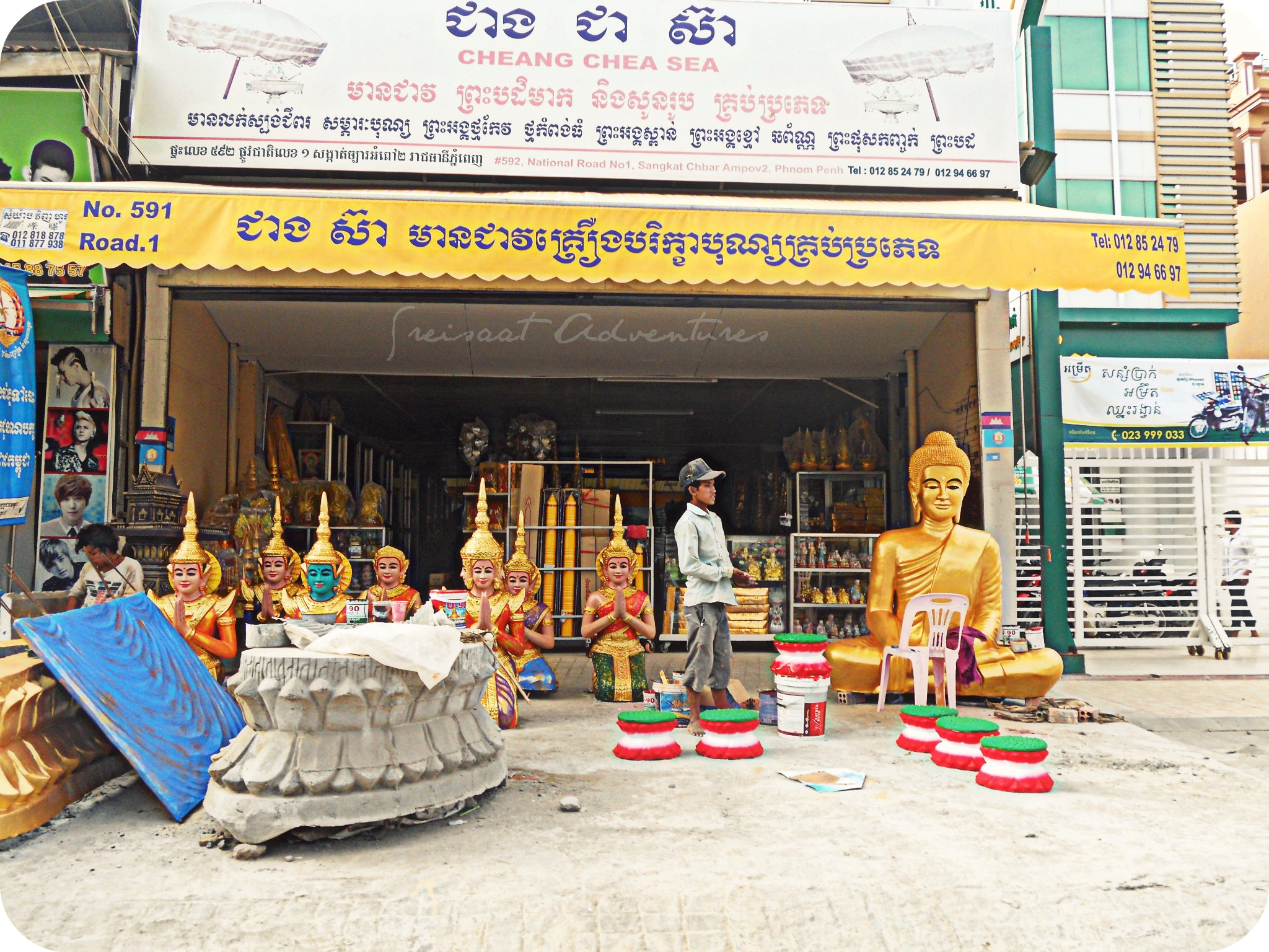 Buddhism shop