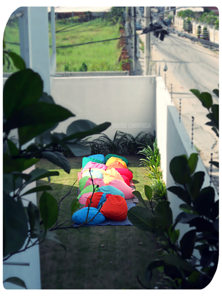 The sun's up - let its rays do the wonders for the cushions.