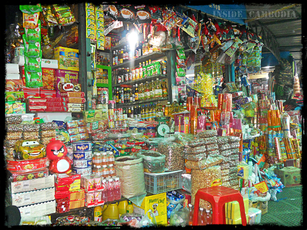 One of the hundreds of shops/stalls found at Psah Thmey (Central Market).