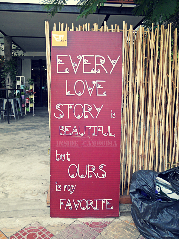 favourite love story sign