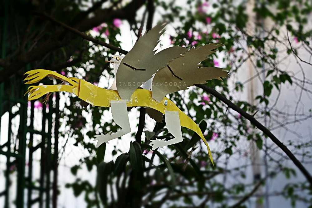 paper dragons made by kids