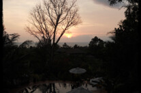 Skywatch Friday: Sunset over Kep